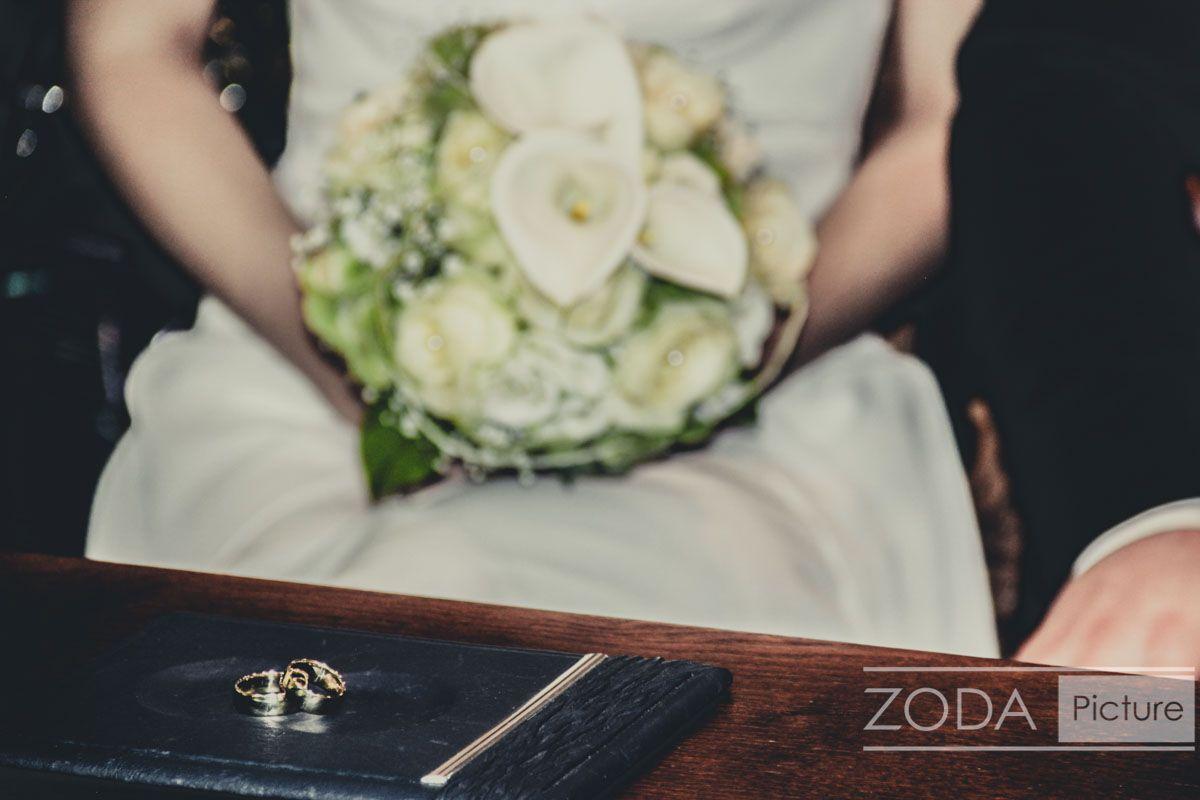 Hochzeitsfotografie in Köln - Foto von Hochzeitsstrauss